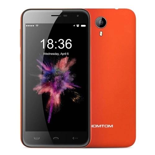 cafago HOMTOM HT3 MTK6735 1.0GHz 4コア ORANGE(オレンジ)