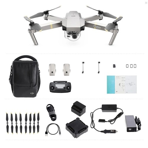 DJI Mavic Pro Platinum Foldable Obstacle Avoidance Drone FPV RC Quadcopter Fly More Combo