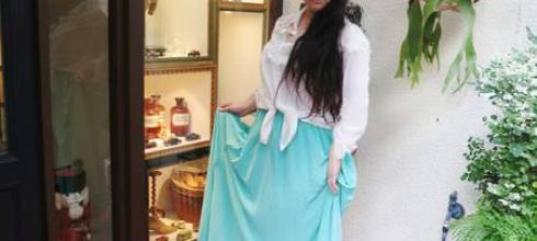 [穿搭] 色塊遊戲~半身長裙穿搭
