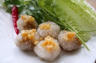 [食譜] 泰式西米露豬肉丸做法สาคูไส้หมู