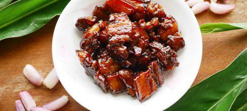 [食譜] 泰式紅燒甜豬肉做法หมูหวาน
