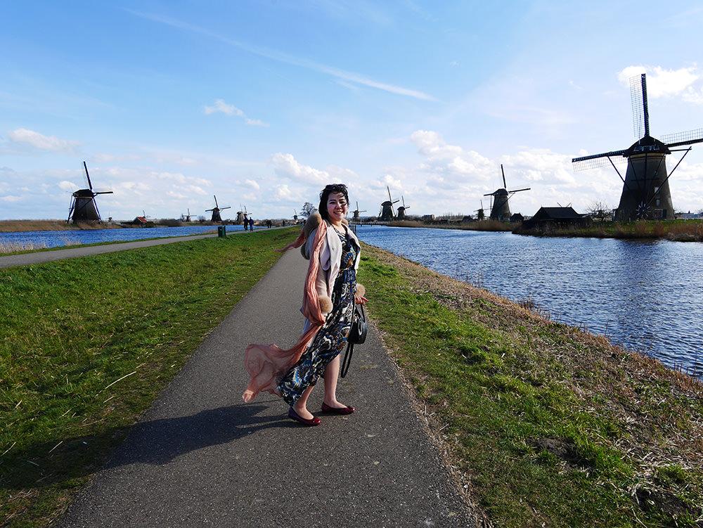 [自助旅行] 荷蘭小孩堤防遊記與小孩堤防交通方式 - 翱翔的姿態