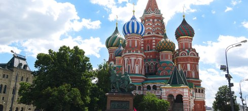 [自助旅行] 俄羅斯莫斯科聖瓦西里大教堂(俄羅斯的象徵建築物)