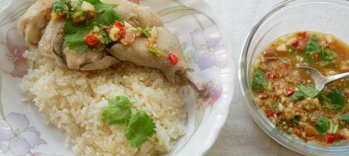 [食譜] 泰式海南雞飯做法,雞湯飯做法(家常版)