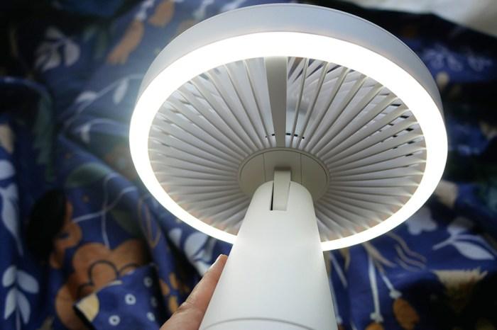 [生活] 停電超前部屬!伊崎ikiiki 香氛玩美燈桌扇心得
