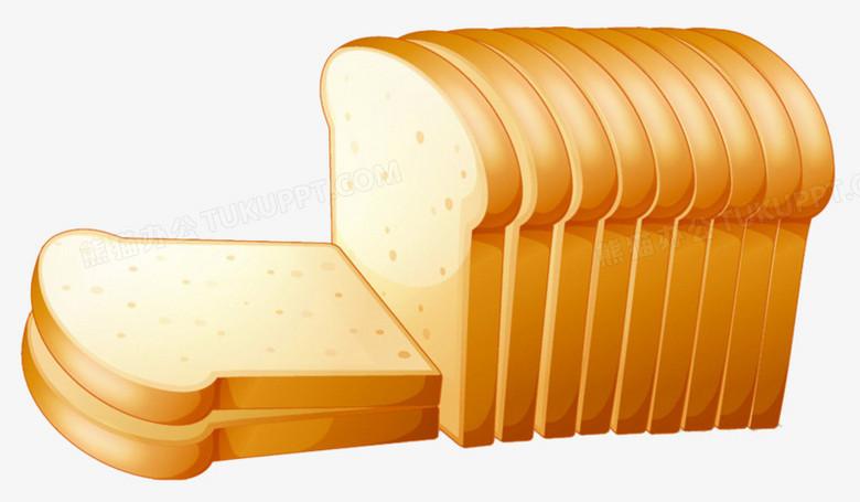 卡通吐司面包PNG圖片素材免費下載_卡通面包PNG_1024*597像素_【熊貓辦公】