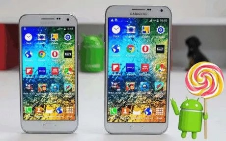 Samsung-Galaxy-E7 lollipop
