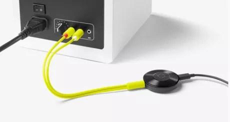 chromecast audio cavo rca