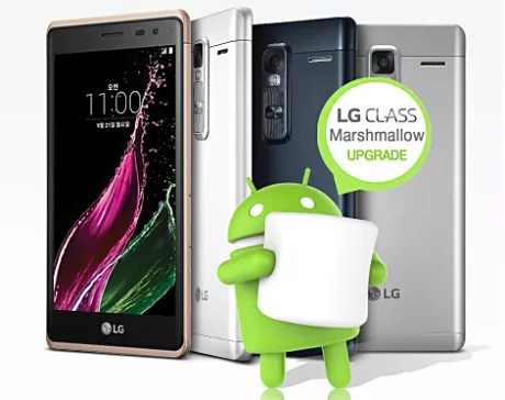 Android 6.0.1 Marshmallow lg zero