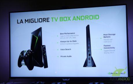NVIDIA SHIELD Android TV presentazione Italia 1
