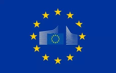 Commissione europea bandiera