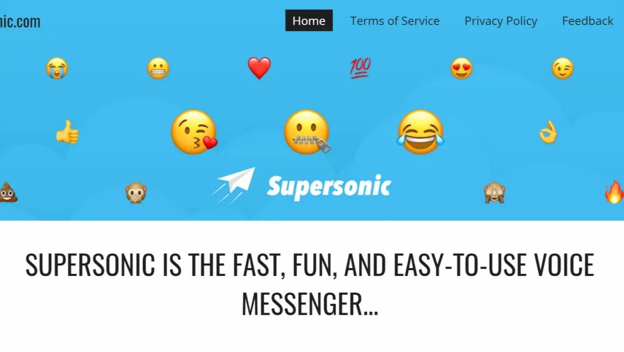 Resultado de imagen de Supersonic Fun Voice Messenger