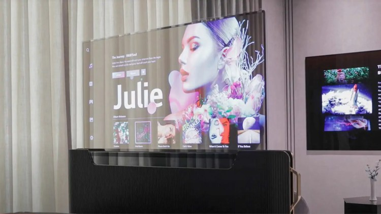 LG al CES 2021 svela alcuni display che sembrano venire dal futuro