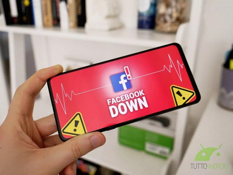 Facebook e Instagram down stasera 8 aprile, cosa sta succedendo (aggiornato)