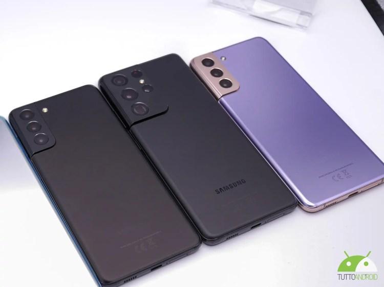 La serie Samsung Galaxy S21 riceverà presto la One UI 4 beta, ecco quando