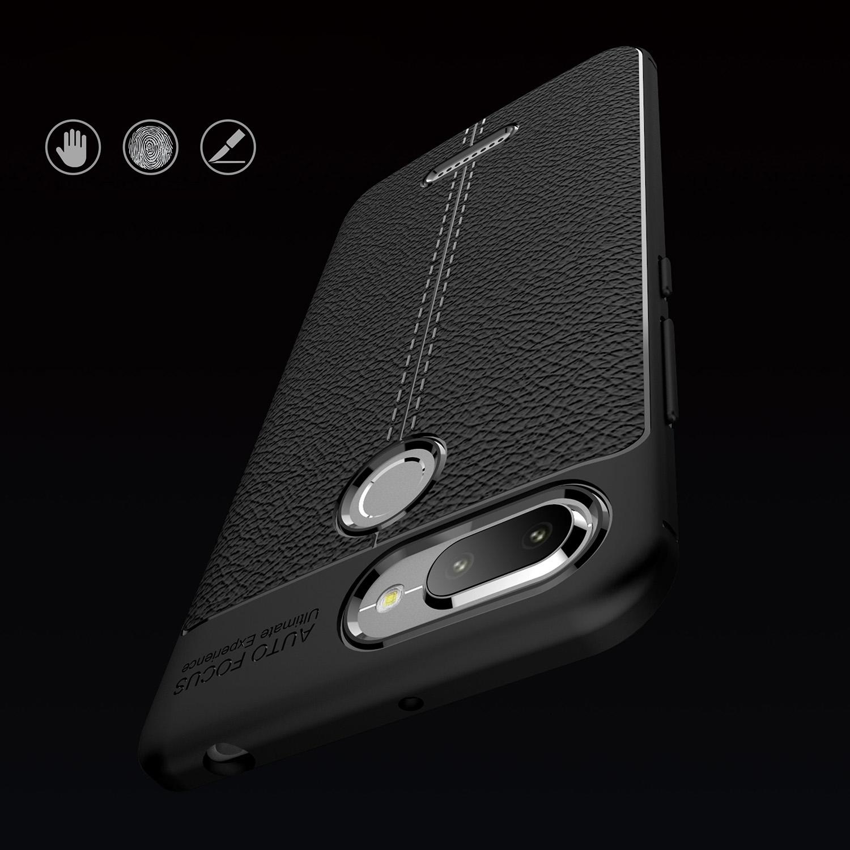 Litchi Texture Tpu Mobile Phone Casing For Xiaomi Redmi 6