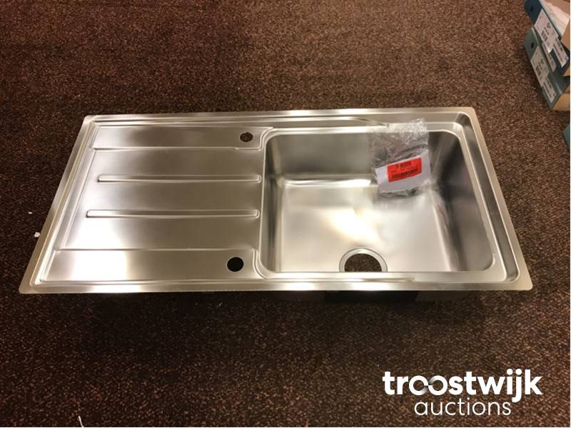 franke anc211r1 stainless steel sink