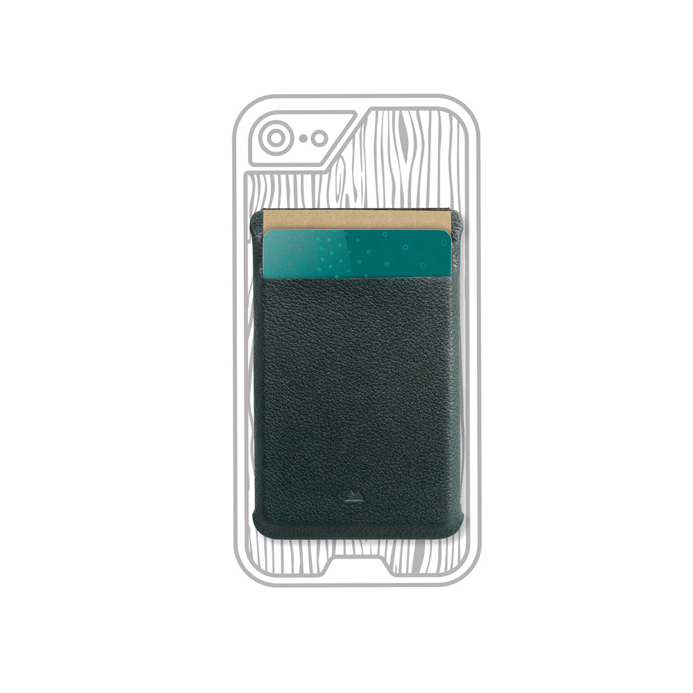 Mous|Limitless 2.0 手機殼專屬真皮磁吸名片夾 | 有.設計 uDesign