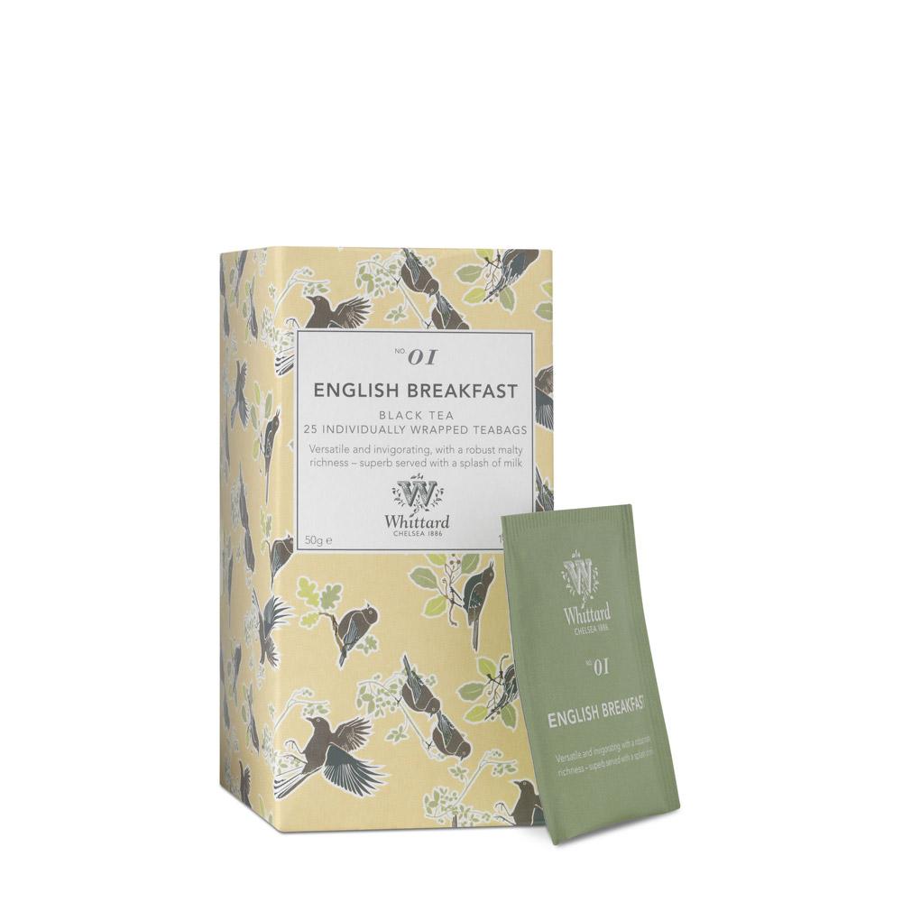 Whittard   英式早餐茶-25入茶包   有.設計 uDesign