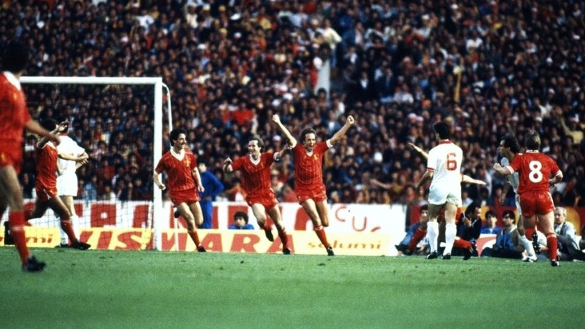 Image result for roma liverpool 1984