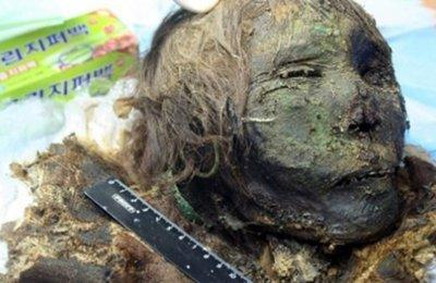 900 yıldır bulunamayan mumya Kuzey Kutbu'nda ortaya çıktı