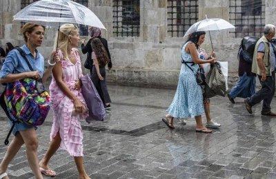 AKOM'dan İstanbul için 5 gün yağış uyarısı