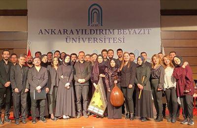 AYBÜ, Türk din musikisi alanında sanatçı ve eğitimciler yetiştiriyor