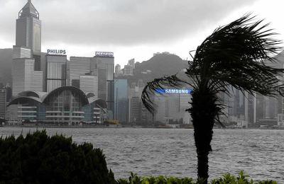 Çin'de karaya ulaşan Higos tayfunu, tropikal fırtınaya dönüştü