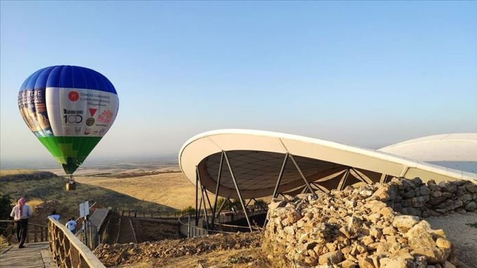 'Tarihin sıfır noktası' Göbeklitepe balonla havadan da gezilebilecek