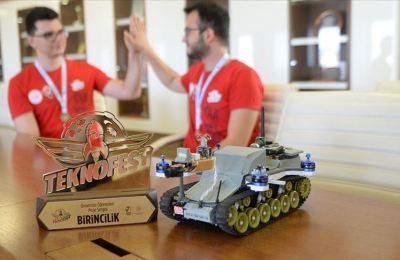 Askeri operasyonlara katkı sağlayacak cihazla birincilik elde ettiler