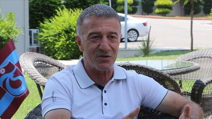 Trabzonspor Kulübü Başkanı Ağaoğlu: Semedo ile hemen hemen bütün şartlarda anlaştık