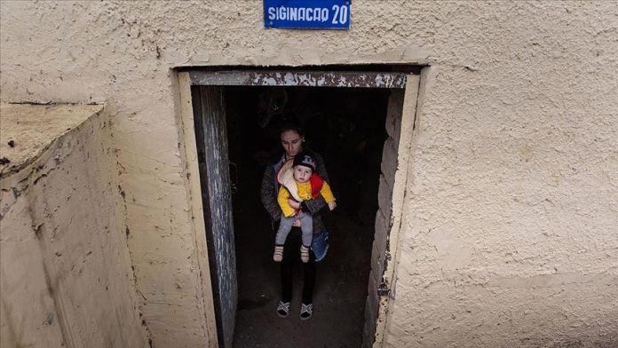 Ermenistan'ın hedefindeki Terter'in sakinleri 10 gündür sığınakta