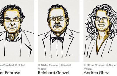 2020 Nobel Fizik Ödülü kara deliklerin keşfine katkı sağlayan 3 bilim insanına verildi