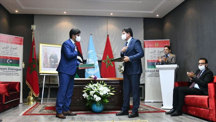 Libya Diyalog Toplantısı'nda üst düzey kurumlara ilişkin anlaşma taslağı imzalandı