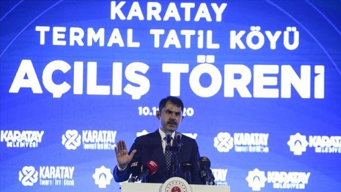 Çevre ve Şehircilik Bakanı Kurum: Konya termal kaynaklarıyla insanlığa şifa sunuyor
