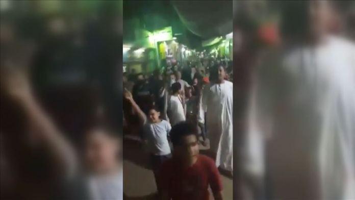 Mısır'daki gösterilerde yaklaşık 1943 kişi gözaltına alındı
