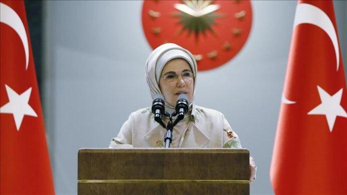 Emine Erdoğan: Ülkemizde yaşanan orman yangınları yüreğimizi acıttı