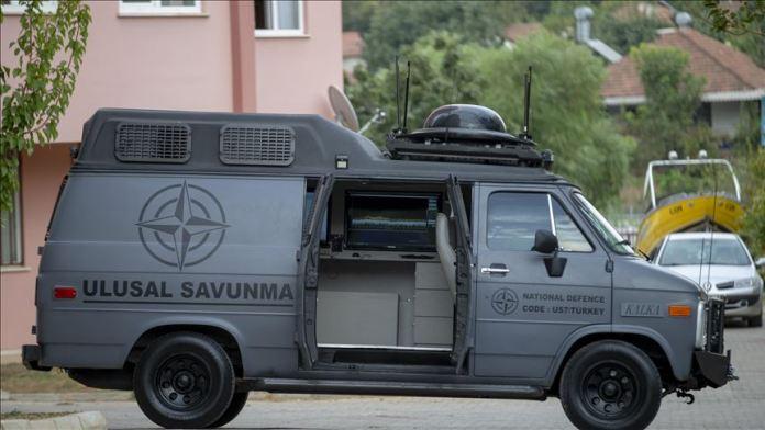 """Drone ve İHA tehdidine karşı üretilen """"KALKA"""", kolluk kuvvetlerinin hizmetine sunuldu"""