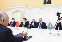 TBMM Başkanı Şentop Azerbaycan Başbakanı Asadov'la görüştü