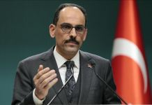 Cumhurbaşkanlığı Sözcüsü Kalın: Paşinyan'ın 'Diplomatik çözüm yok' açıklaması Ermenistan'ın niyetini ortaya koyuyor