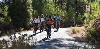 Bodrum'da alternatif bisiklet rotaları Rus turistlere tanıtıldı