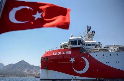 'Oruç Reis gemimizin faaliyetlerini yürüttüğü saha ülkemizin kıta sahanlığı dahilinde bulunmaktadır'