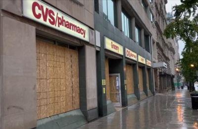 Washington'daki mağazalarda seçim sonrası için güvenlik önlemi