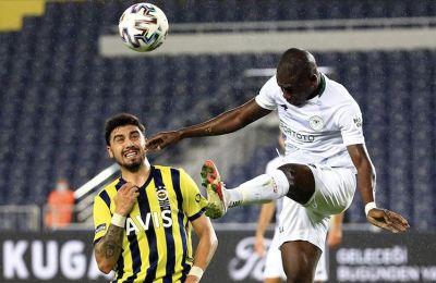 Fenerbahçe'yi Konyaspor durdurdu