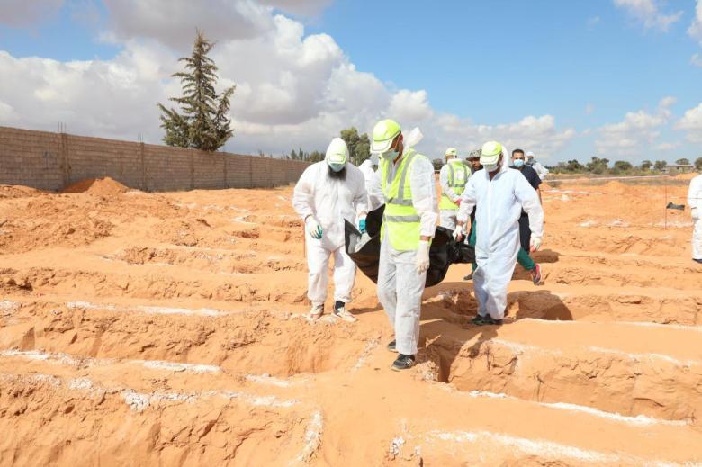 1604828704 84 libyanin toplu mezarlar kenti terhunede yeni cesetler cikmaya devam ediyor
