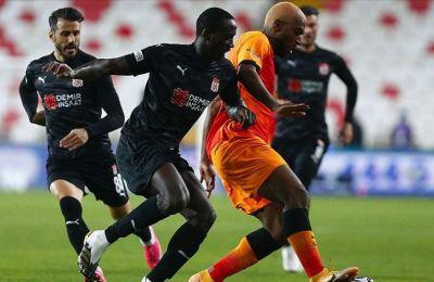 Sivasspor evinde galibiyeti unuttu