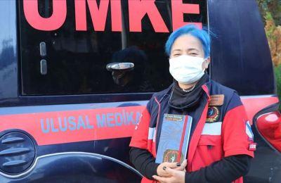 'UMKE'nin Fatma ablası' arama kurtarmada aldığı notlarla gençlere yol gösteriyor