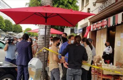 ABD'nin Los Angeles kentinde Türk restoranına yapılan saldırıyla ilgili bir zanlı yakalandı