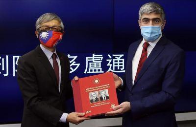 Tayvan heyetinden AA'ya ziyaret
