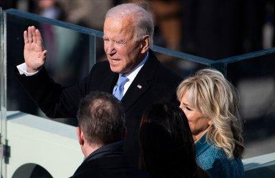 AA Biden'ın yemin töreni sonrasında Washington'da sokağın nabzını tuttu